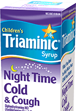 Night Time Cold And Cough Children S Triaminic 174 Syrup